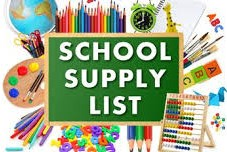Supply Lists / School Supply Lists