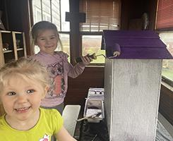 Fritch girls painting