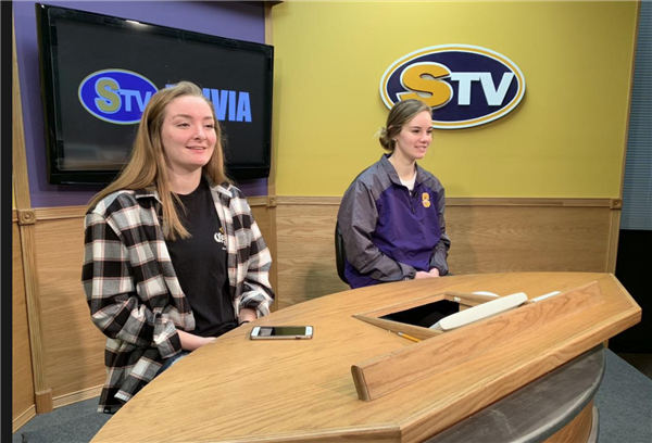 Live, from Sherrard, it's STV!